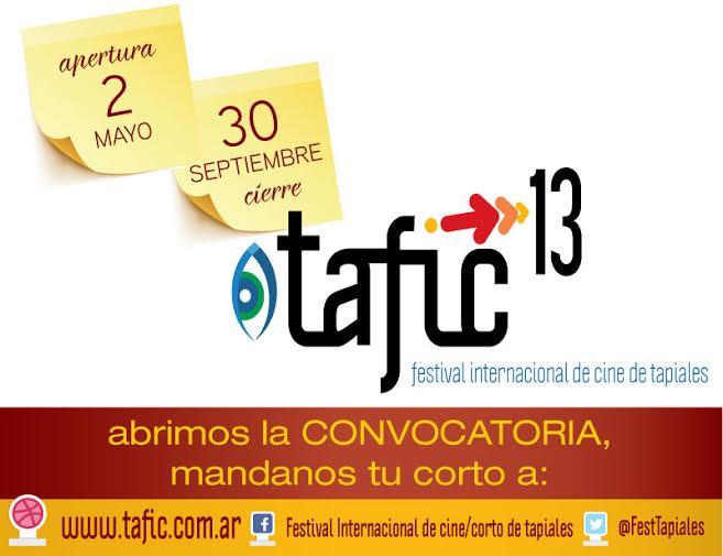 TAFIC Banner convocatoria 2016