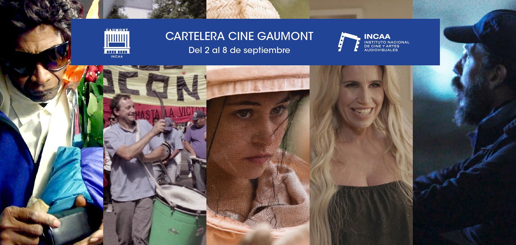 Cartelera Gaumont 2 al 8 de septiembre