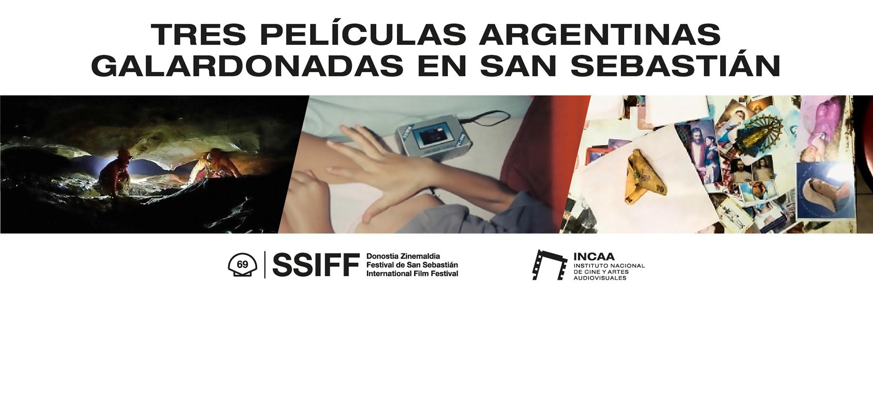 PELÍCULAS ARGENTINAS PREMIADAS EN SAN SEBASTIÁN