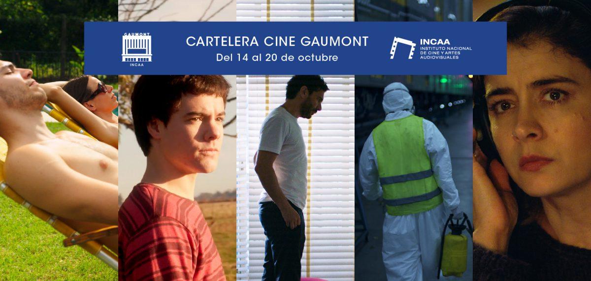 Cartelera Gaumont 14 de octubre